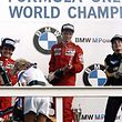 (FILES) In this file photo taken on August 25, 1985 World champion Niki Lauda (C) of Austria celebrates his victory on the podium after winning the Dutch Formula One Grand Prix in Zandvoort, with his McLaren teammate French Formula One driver Alain Prost (L), second, and Brazilian Lotus Ayrton Senna (R), third - Legendary Formula One driver Niki Lauda has died at the age of 70, his family said in a statement released to Austrian media on May 21, 2019. (Photo by Dominique FAGET / AFP)