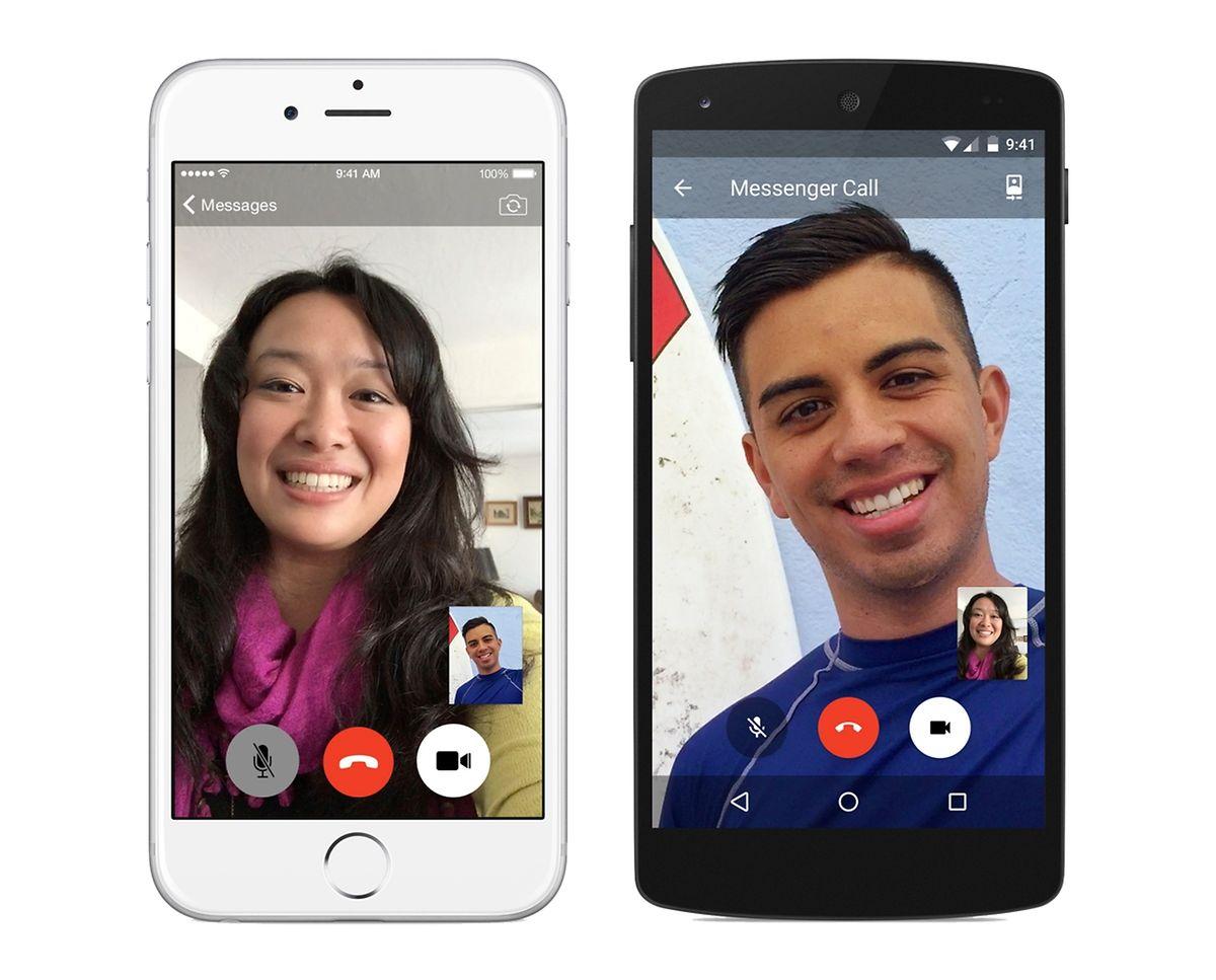 Facebook Messenger: Die App funktioniert auch ohne Account beim sozialen Netzwerk über die Mobilfunknummer.