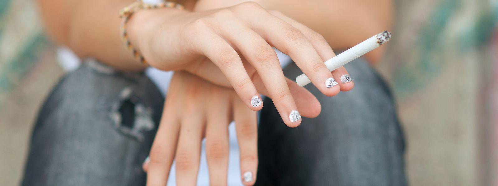 C'est l'augmentation spectaculaire des jeunes fumeurs âgés de 16 à 24 ans qui inquiète le plus la Fondation cancer