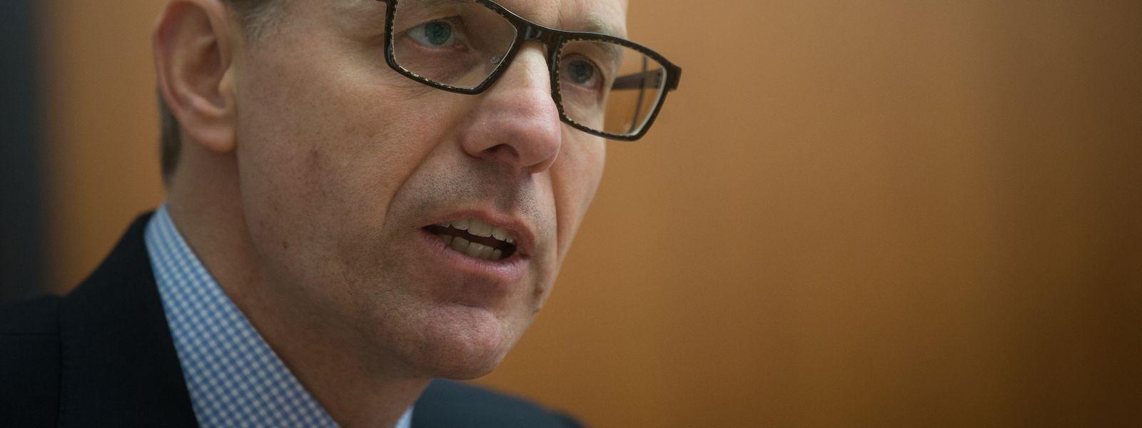 """""""Warum ist Luxemburg bei der Wettbewerbsfähigkeit nicht unter den ersten drei?"""", fragt Handelskammer-Präsident Luc Frieden am Mittwoch."""