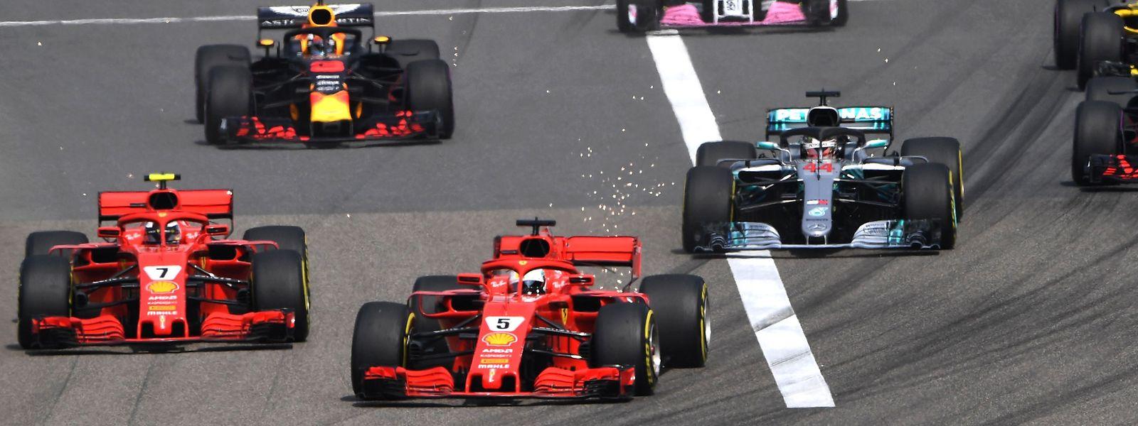 Der GP von China gehörte nicht zu den langweiligeren Rennen.