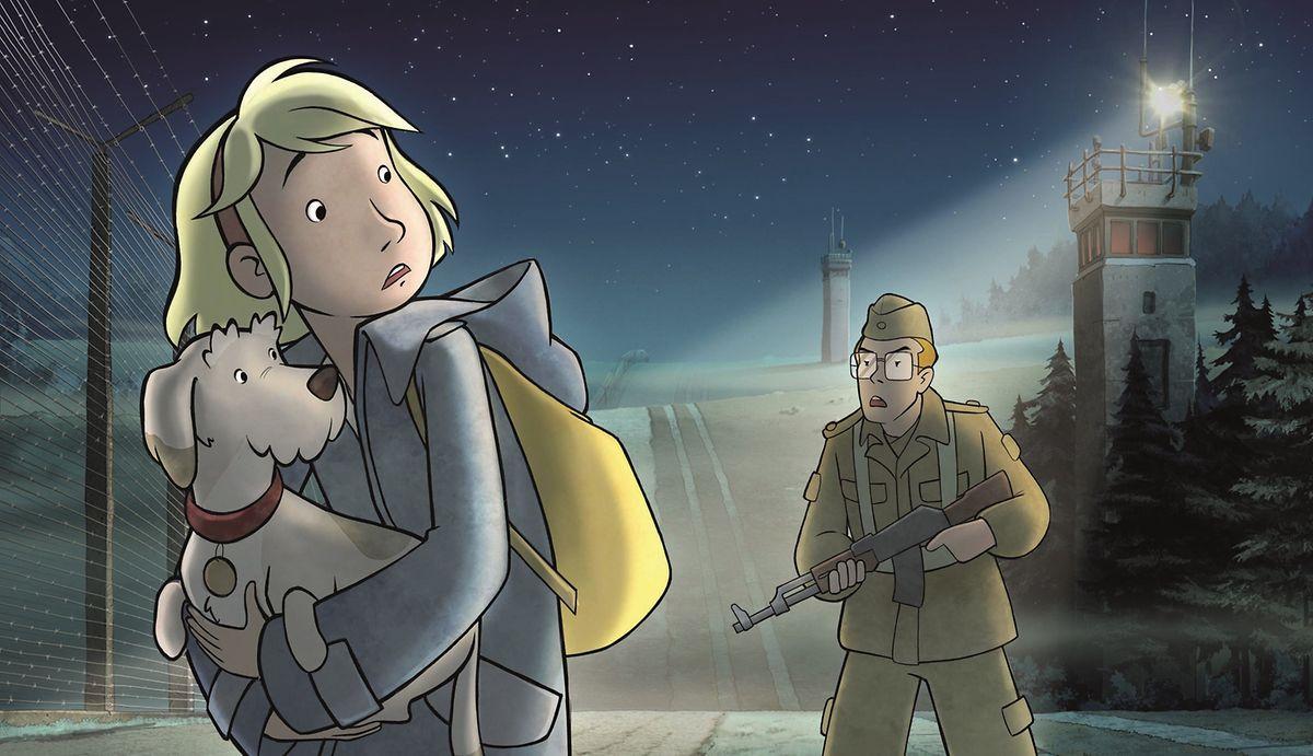 """""""Fritzi – eine Wendewundergeschichte"""" erzählt aus der Sicht eines zwölfjährigen Mädchens, wie vor 30 Jahren der Eiserne Vorhang fiel."""