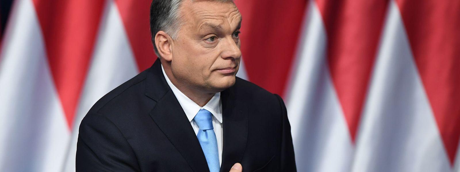 """""""Brüssel ist die Hochburg des neuen Internationalismus, ihr Werkzeug ist die Migration"""", sagte Viktor Orban in seiner Rede am Sonntag."""