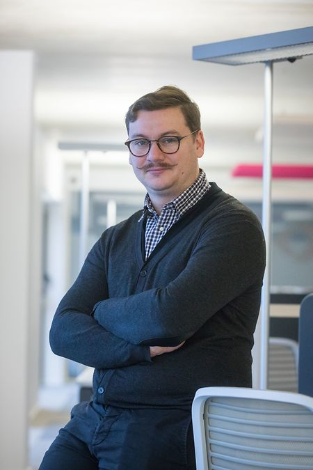 Benoit Petry, responsable d'exploitation du S-Hub de Yutz.