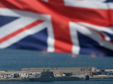 The HMS Ambush submarine was submerged and carrying out a training exercise in Gibraltar waters when it collided with the vessel on Wednesday afternoon, damaging the front of its conning tower.