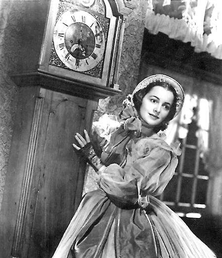 """Olivia de Havilland als Melanie Wilkes in """"Vom Winde verweht"""" (1939)."""