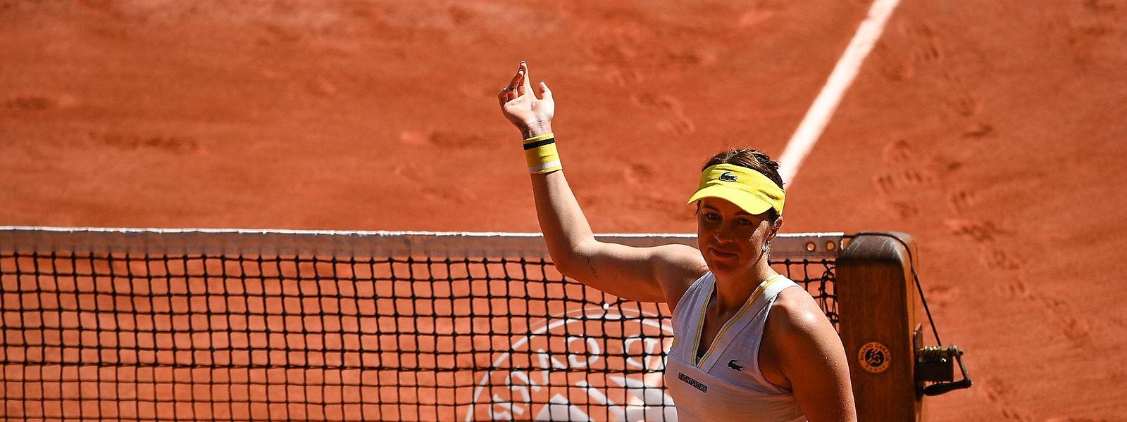 Anastasia Pavlyuchenkova wird das erste Grand-Slam-Finale in ihrer Karriere bestreiten.