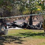 Sete mortos em colisão de helicóptero e avioneta em pleno voo