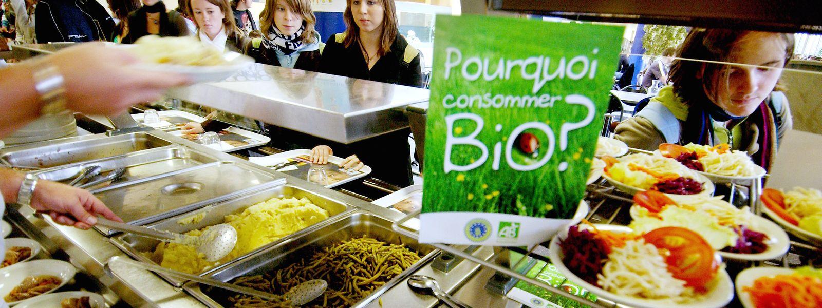 Les produits issus de l'agriculture bio luxembourgeoise sont assurés de trouver des débouchés dans la restauration collective.