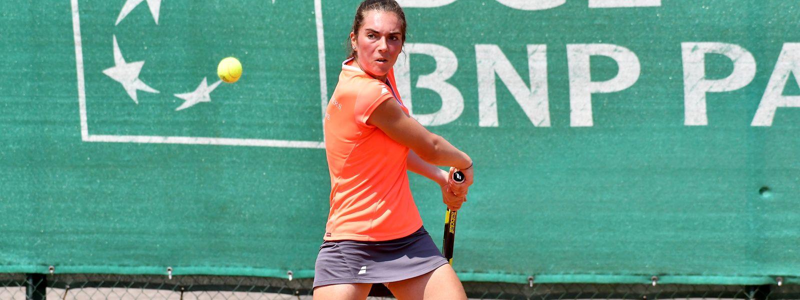 Eléonora Molinaro est restée près de trois heures sur le court ce vendredi, en quart de finale du tournoi de Horb