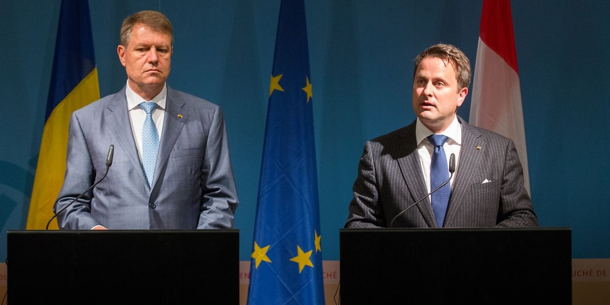 Beide Länder wollen die bereits bestehenden guten Beziehungen weiter ausbauen, betonten sowohl der rumänische Präsident Klaus Johannis und Premierminister Xavier Bettel.