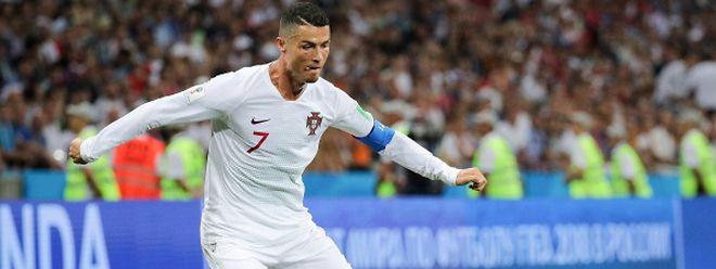 Cristiano Ronaldo n'a plus porté le maillot de la sélection portugaise depuis la Coupe du monde et le huitième de finale perdu contre l'Uruguay à Sotchi.