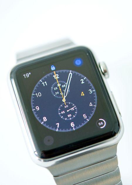Klassisch: Viele Nutzer dürften sich für den Chronographen-Look entscheiden.