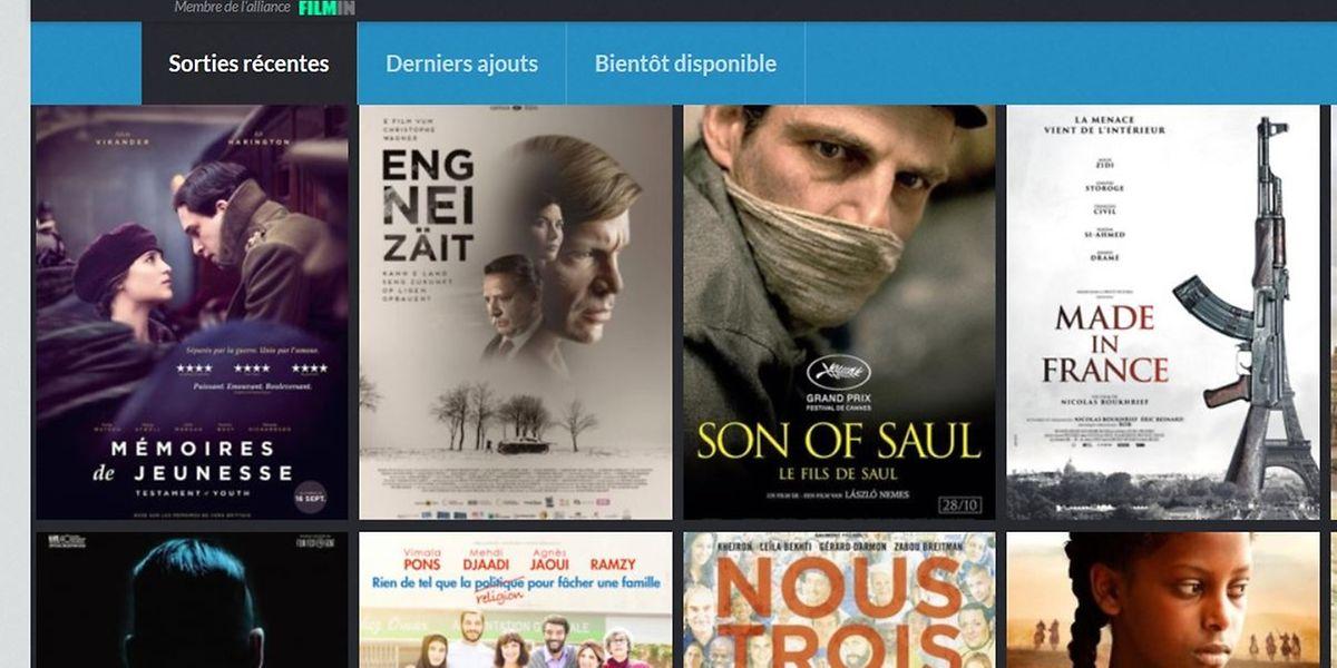 La plateforme www.vod.lu est accessible en français, allemand et anglais et offre, pour son lancement, un catalogue de 750 films luxembourgeois et européens.