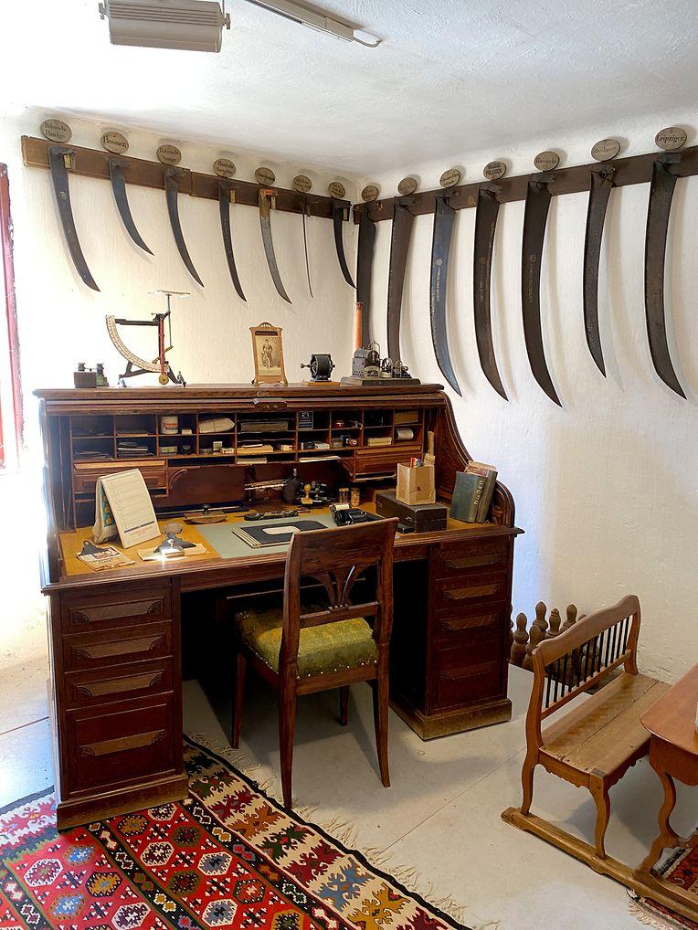 Eindrücke aus dem Freilichtmuseum Schmiedleithen bei Leonstein - hier wird das Leben früherer Zeiten erlebbar.