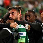Liga Europa. Sporting salva honra portuguesa em noite para esquecer