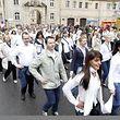 21.5. Echternach / Springprozession 2013 / Gruppe ehem . Schueler Lyzeum Echternach ,  / foto: Guy Jallay