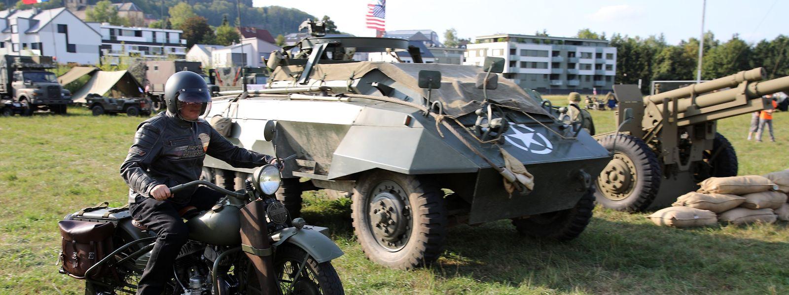 Steinsel Treffen Historischer Militärfahrzeuge / Foto: Charlot KUHN