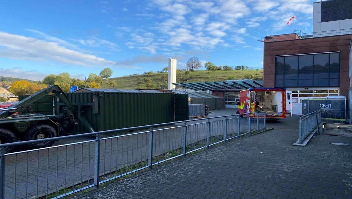 In Ettelbrück wurden indes am Donnerstag Zelte abgebrochen.