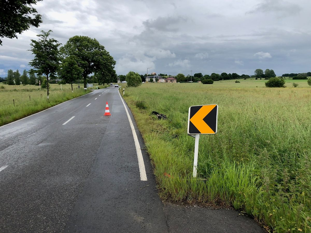 Der Motorradfahrer war von Bettemburg in Richtung Peppingen unterwegs.