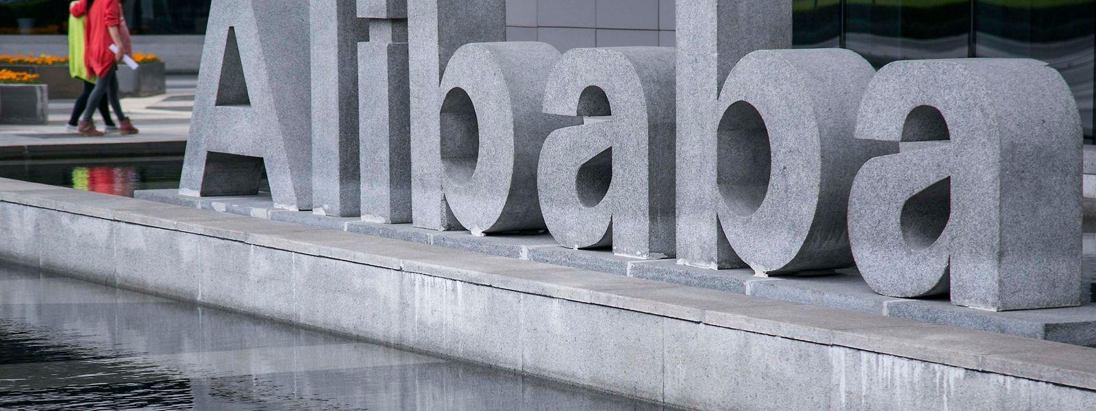 Die Alibaba-Gruppe zählt weltweit 654 Millionen aktive Verbraucher.