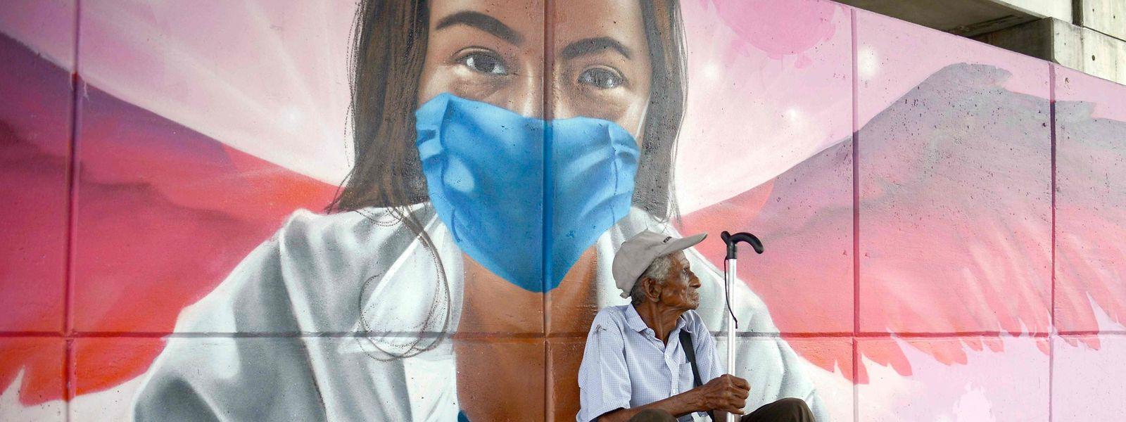 Mexiko, zweitgrößtes Land Lateinamerikas, verzeichnet rund 26 000 Infizierte und mehr als 2500 Tote.