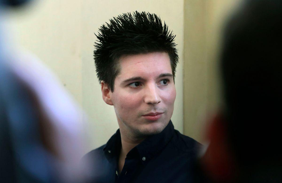 Rui Pinto, de 30 anos, chegou na sexta-feira ao Tribunal de Instrução Criminal de Lisboa.