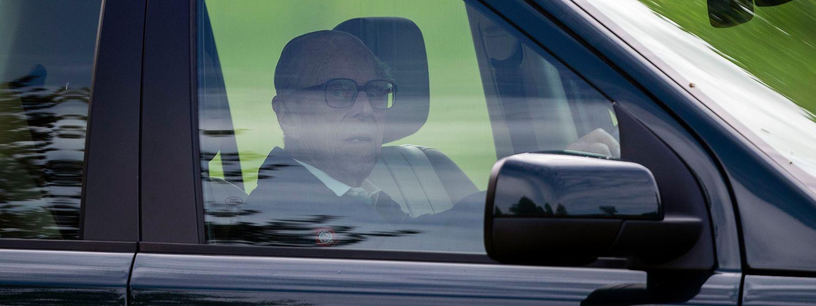 Der Ehemann der Queen war am Donnerstagnachmittag (17.01.2019) in einen Verkehrsunfall verwickelt.