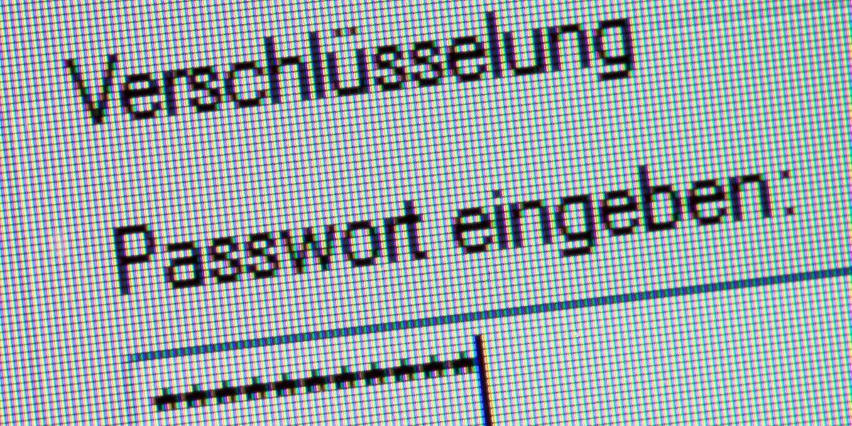 Wer seine Daten sicher verschlüsseln will, benötigt unbedingt ein gutes Passwort.