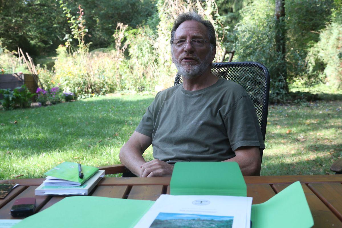 """""""Ich war von Kind an begeistert von der Natur"""", sagt Josy Cungs."""