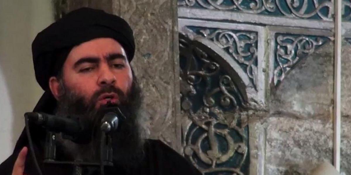Abou Bakr al-Baghdadi, le 5 juillet 2014 dans une vidéo de propagande.