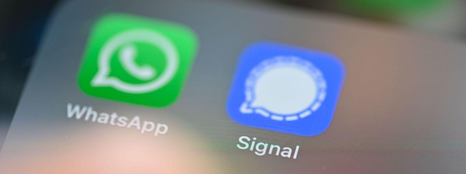 WhatsApp zählt weltweit rund zwei Milliarden Nutzer. Eine Alternative mit großem Zulauf ist neben Threema der Dienst Signal.