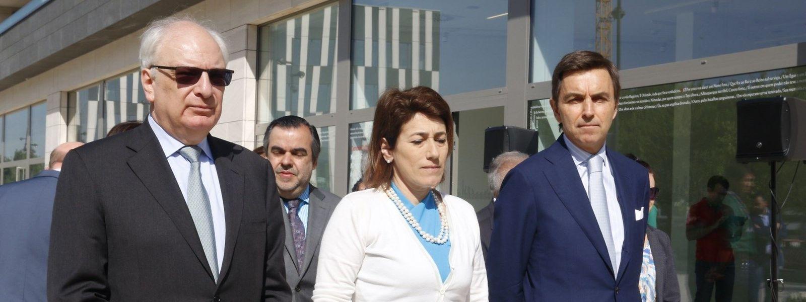 A ministra da Administração Interna, Constança Urbano de Sousa, participou hoje na cerimónia do 10 de Junho no Luxemburgo