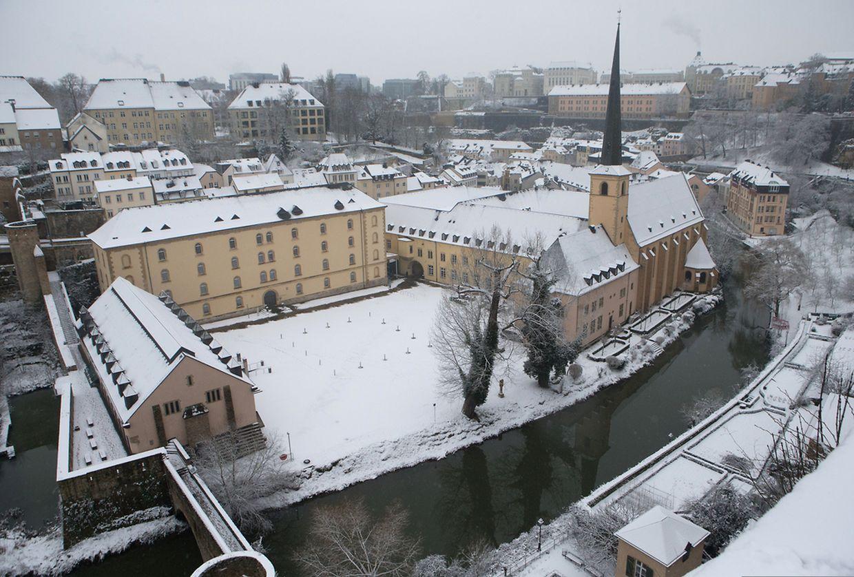 Schnee in Luxemburg