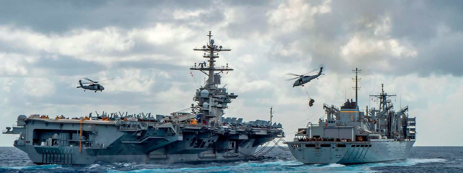 US-Präsident Trump dementierte einen Bericht über eine massive Entsendung von Soldaten in die Region.