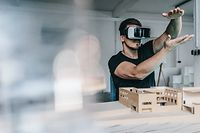 Essen, NRW, Deutschland, m34, virtual reality, Architektur, Business, Architekt, Architekturmodell