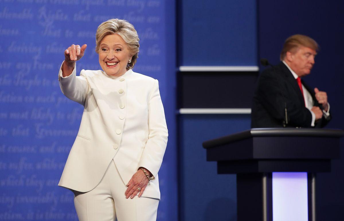 Hillary Clinton trat im US-Wahlkampf im Jahr 2016 gegen ihren Rivalen Donald Trump an.