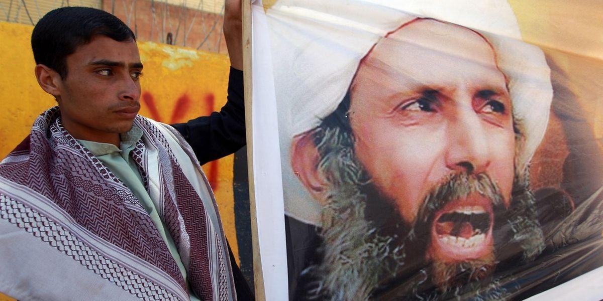 Im Oktober 2014 war es bereits zu Protesten gegen die Hinrichtung von Nimr al-Nimr gekommen.
