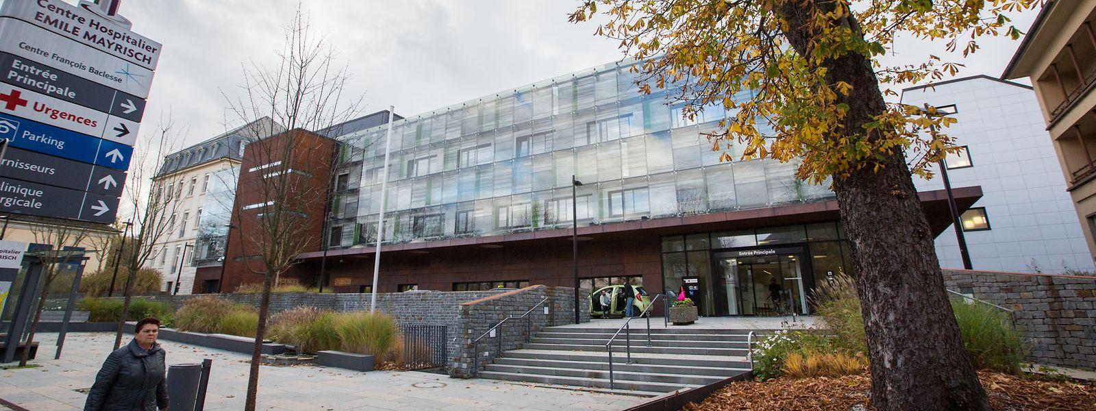 Im Centre Hospitalier Emile Mayrisch werden momentan 41 Covid-19 Patienten behandelt (Stand 20.März 2020).