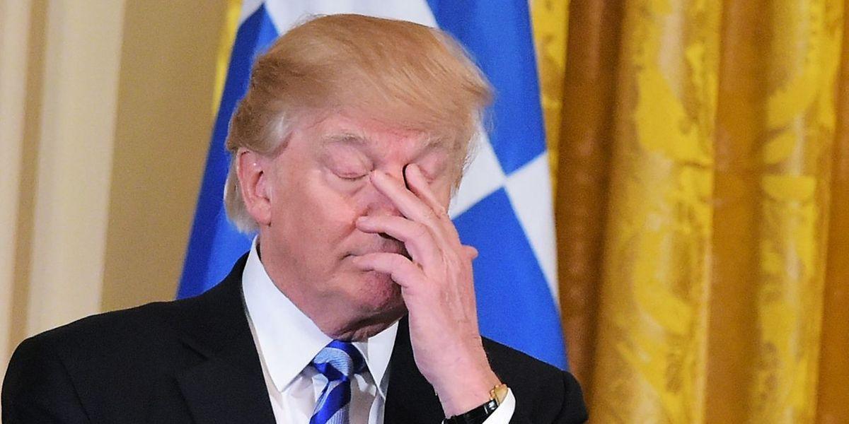 Geht Trump schon die Luft aus?
