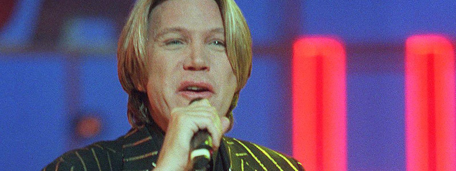 Patrick Juvet bei einem Auftritt in Paris im Jahr 1997.