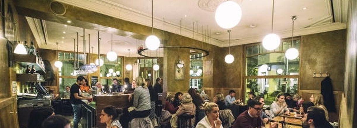 Café Tramway Limpertsberg. Foto.Gerry Huberty