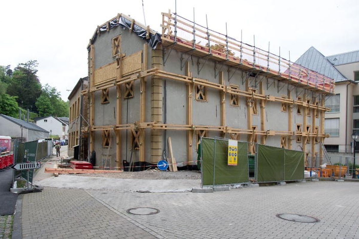 Die Restaurierung der alten Senffabrik in der Rue Mohrfels trägt zur Aufwertung des Stadtviertels Pfaffenthal bei.