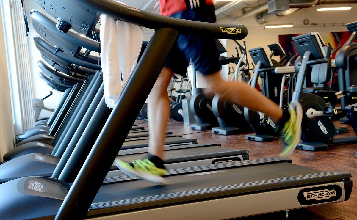 Bekanntschaften aus dem Fitness-Center trifft man in der Pandemie eher selten.