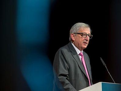 """Jean-Claude Juncker: """"Es muss möglich sein auf einem Kontinent von 500 Millionen Menschen zwei Millionen Flüchtlinge aufzunehmen."""""""
