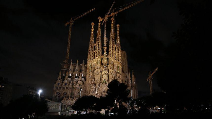 La basilique de la Sagrada Familia, joyau moderniste inachevé de l'architecte espagnol Antoni Gaudi, commencé en 1882, attire chaque année des millions de visiteurs.