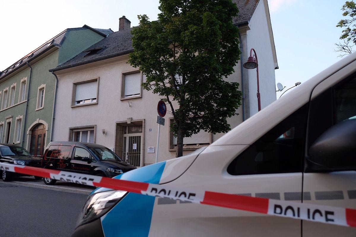 In diesem Mehrfamilienhaus wurde die Frau am 24. Juli 2018 erstochen.