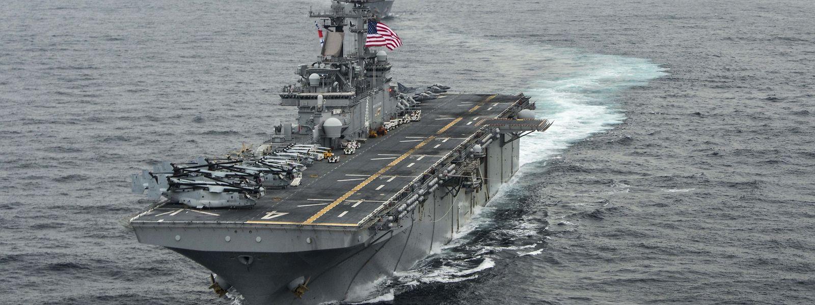 L'Iran dément avoir surveillé ou attaqué le navire USS Boxer à l'aide d'un drone.