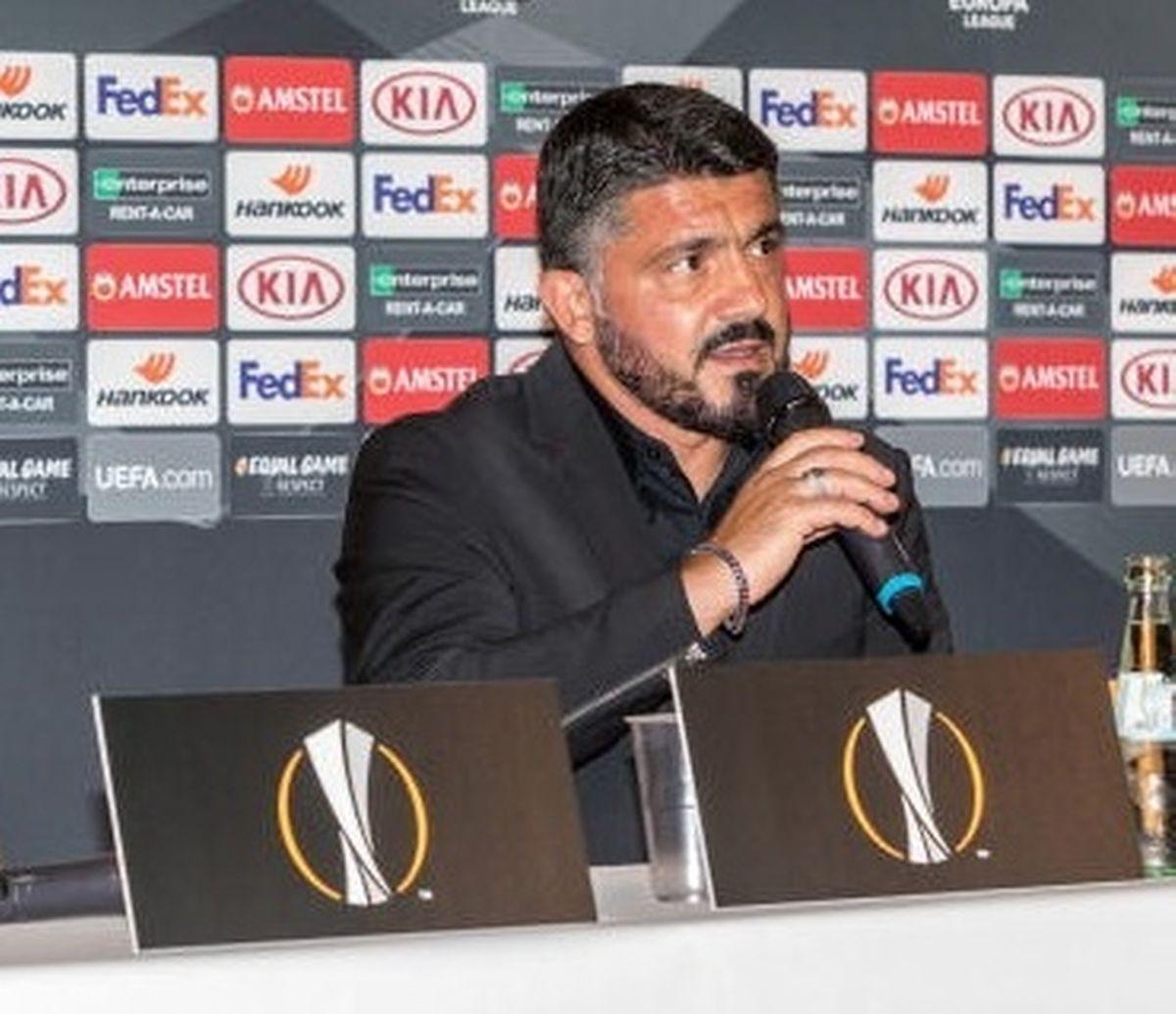 Gattuso diz estar informado sobre o F91 Dudelange.