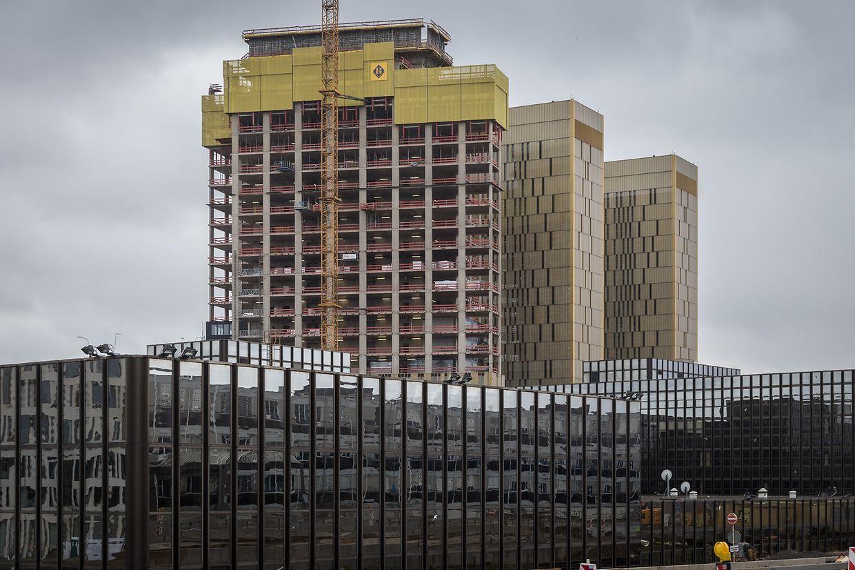 Bis 2019 soll der dritte Turm fertiggestellt sein.